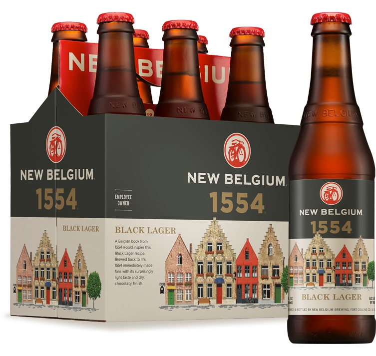 New Belgium 1554 Black Lager