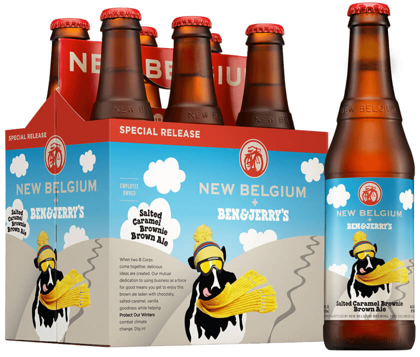 New Belgium Ben & Jerry's Salted Caramel Brownie Brown Ale