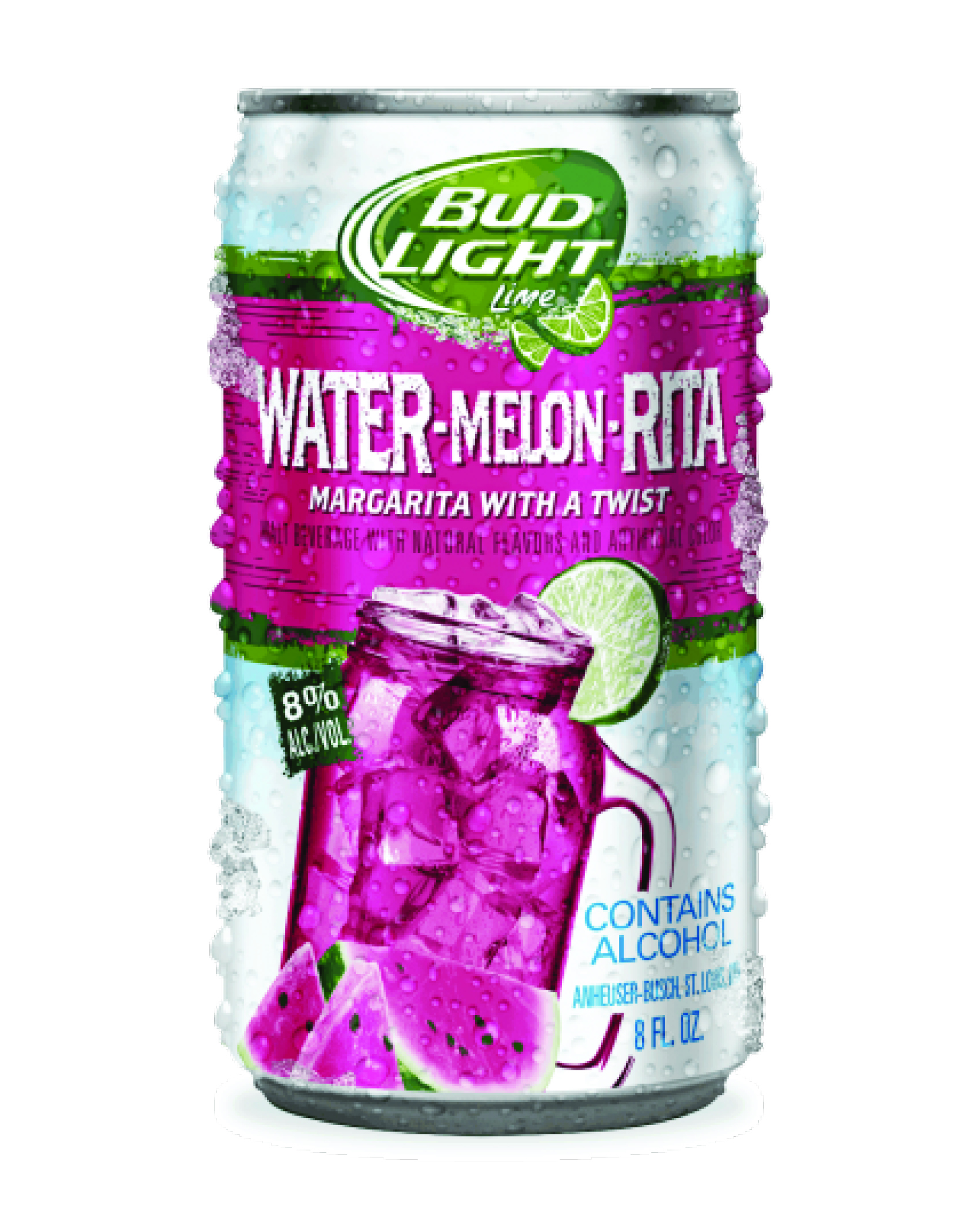 Bud Light Lime Water-Melon-Rita