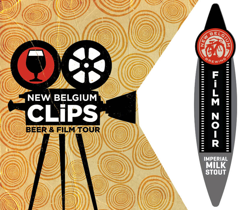 New Belgium Film Noir Imperial Milk Stout