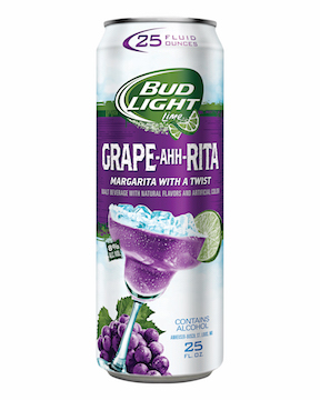 Bud Light Grape A Rita