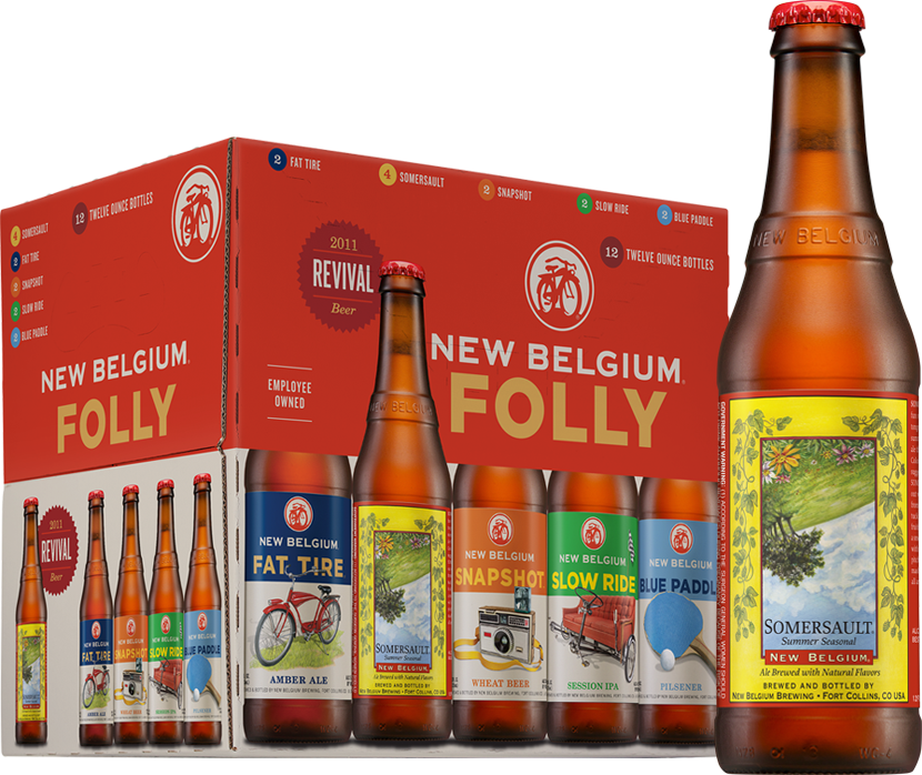 New Belgium Somersault Ale